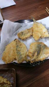 鳥取で釣った味をアジフライにしました