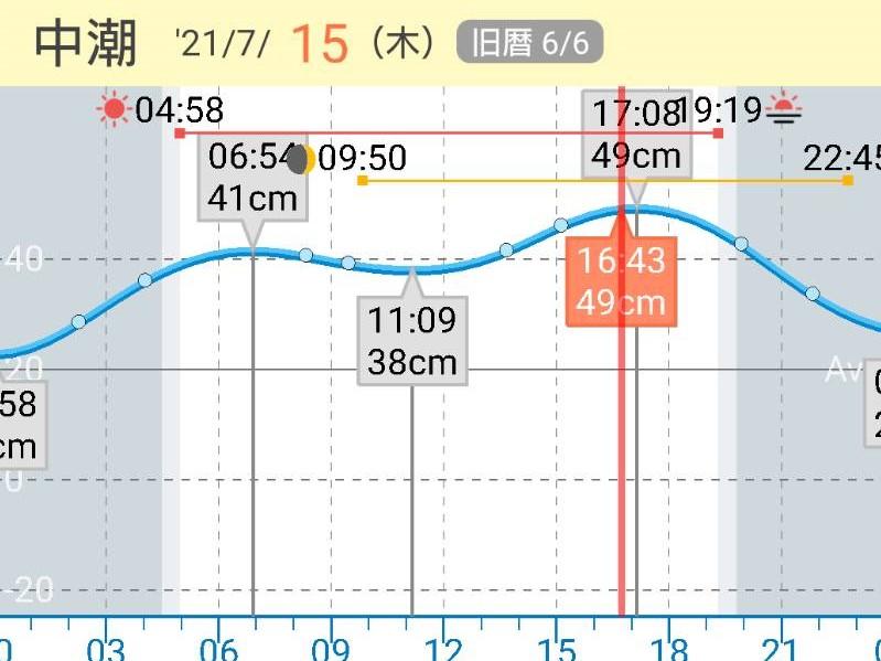 タイドグラフ