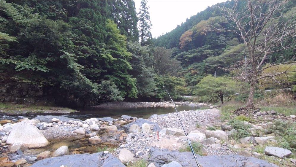 鳥取県八頭郡智頭町渓流トラウト